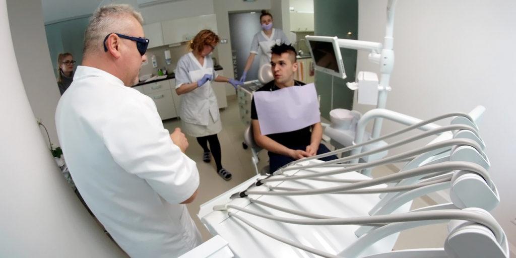 Sebastian Rudol po konsultacjach w naszej klinice